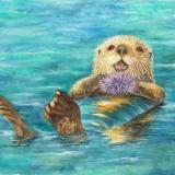 Otter & Urchin