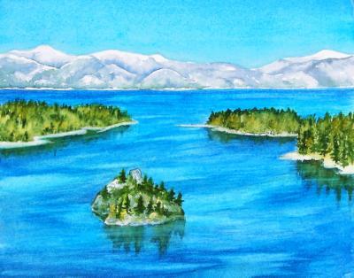 Fanette Island/Emerald Bay