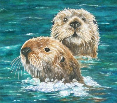 Otter Friends