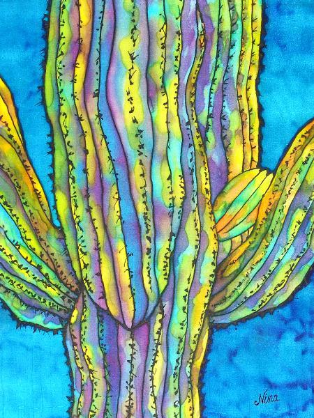 Saguaro on Silk